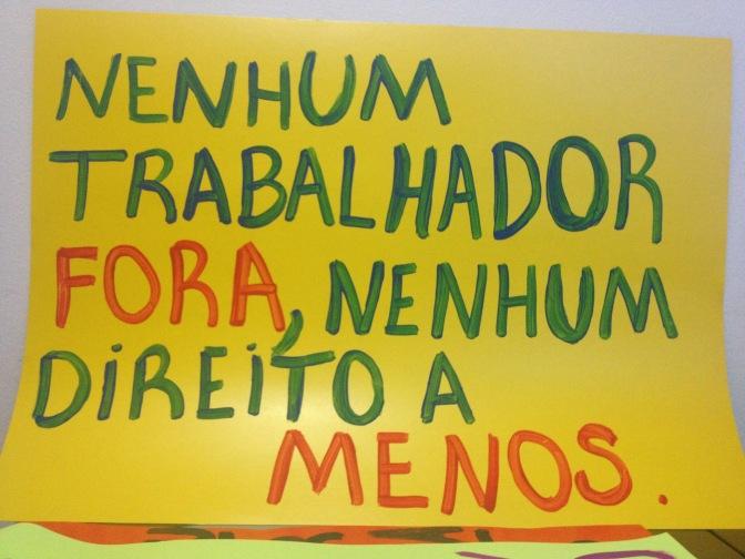 Unidade para combater sindicalismo governista e direções divisionistas!