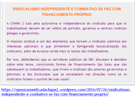 IMPOSTO SINDICAL