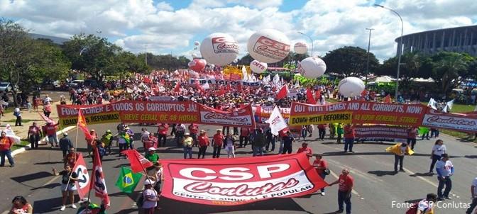 #OcupaBrasília! Fascistas não passarão!!!